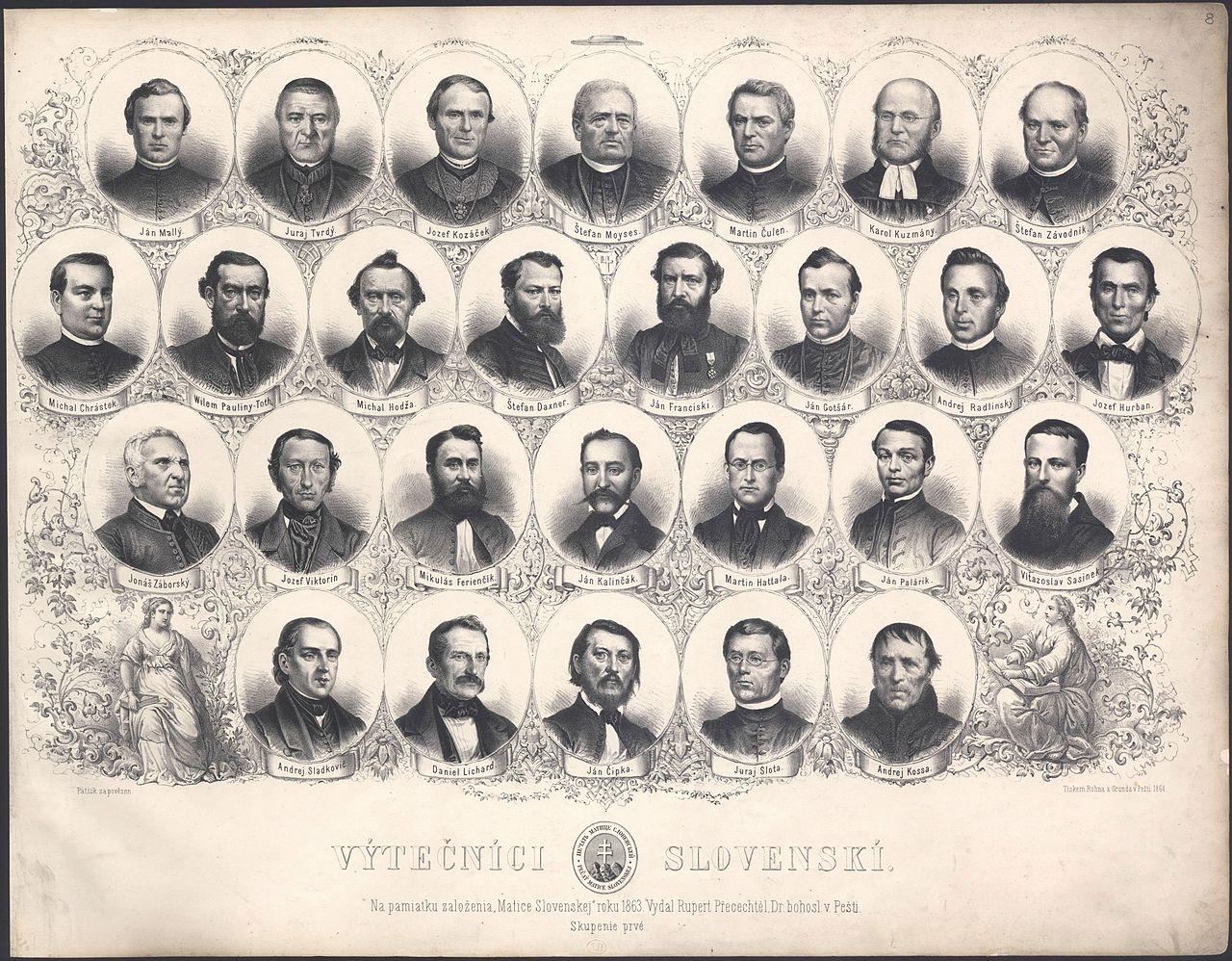 Slovenskí výtečníci 1863